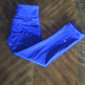 lululemon athletica Pants - Lululemon Wunder Under  crop III • size 4